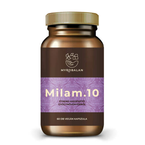 Myrobalan Milam.10 - gyógynövény kapszula a pihentető alvásért