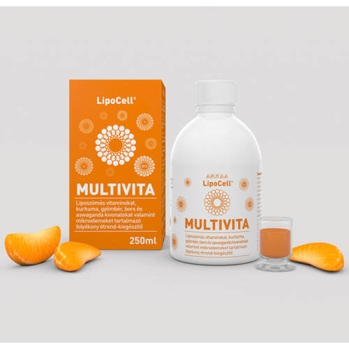 Hymato Lipocell multivita liposzómás multivitamin (250 ml)