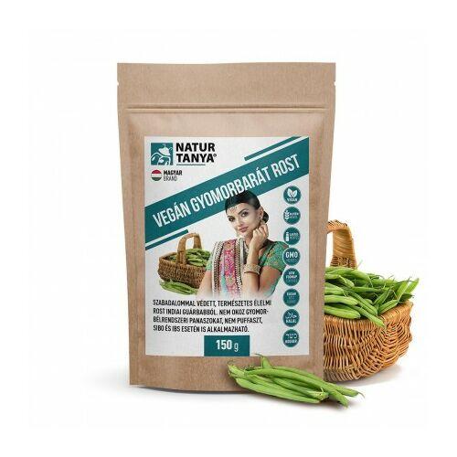 Natur Tanya vegán gyomorbarát rost - Szabadalommal védett indiai guarbabból a Monash Egyetem LOW FODMAP tanúsítványával, IBS, SIBO esetén is.