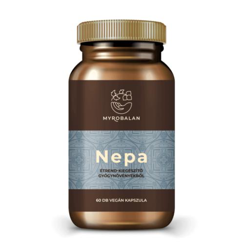 Myrobalan Nepa - gyógynövény kapszula a nyugodt tudatért