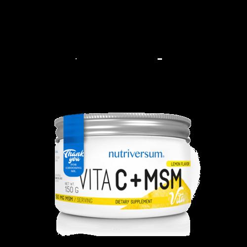 Nutriversum C+MSM - 150 g - VITA - citrom