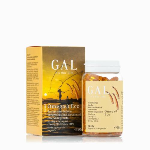 GAL Omega-3 Eco lágyzselatin-kapszula