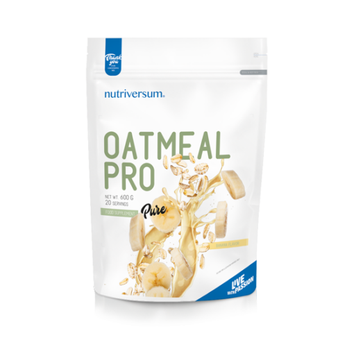 Nutriversum Oatmeal PRO - 600 g - PURE - banán