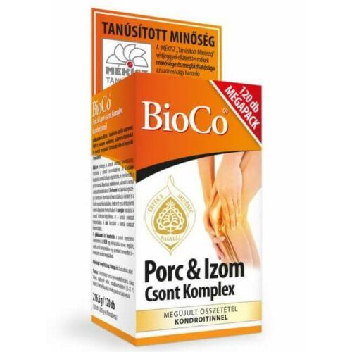 BioCo Porc & Izom, Csont Komplex 120 db filmtabletta