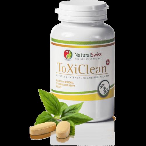 NaturalSwiss ToxiClean® Májtisztító