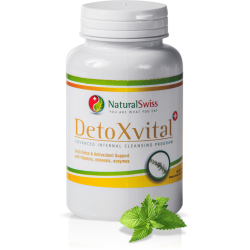 NaturalSwiss Detox Vital® Méregtelenítő