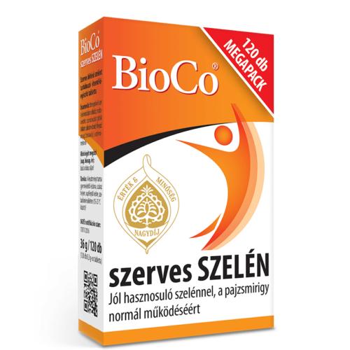 BioCo Szerves Szelén 120 db tabletta